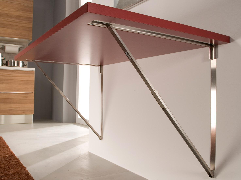 Volete costruire il vostro tavolo pieghevole a muro - Tavolo a ribalta da parete ...