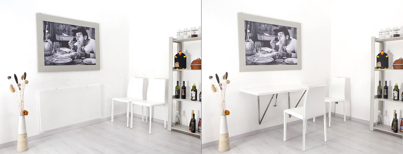 Tavoli pieghevoli a muro new table concept - Tavolo pieghevole cucina ...