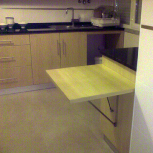 transformable custom kitchen table