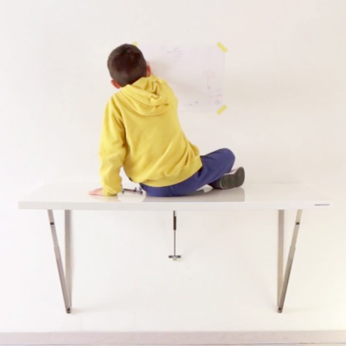 wall folding table VIdeo