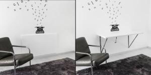 wall mounted desk UK