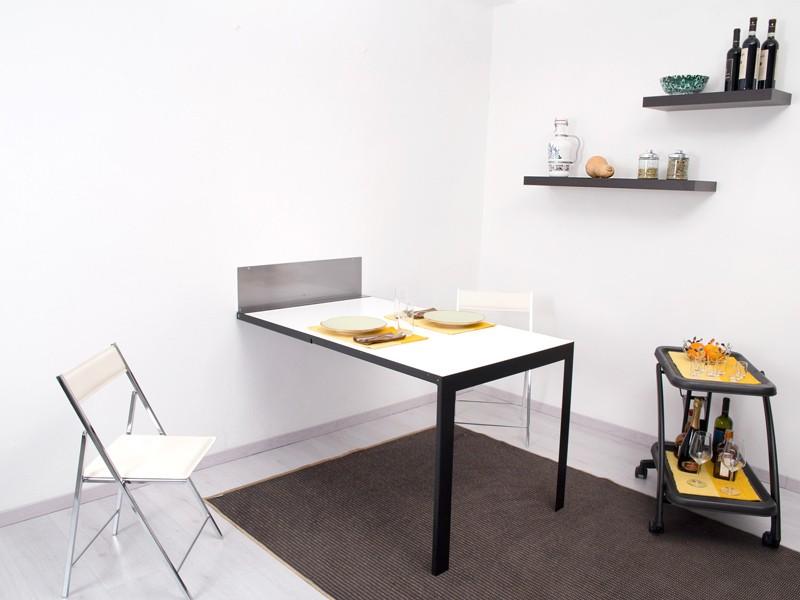 Scrivania Pieghevole A Muro : Tavolo ribaltabile da parete vengiò new table concept
