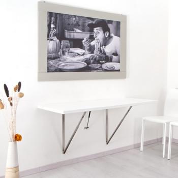 tavolo pieghevole a muro per la cucina